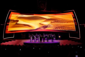 Steve Sidwell SFX Choir - Zayed Future Energy Awards Abu Dhabi 2014